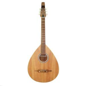 New Ukrainian 6 Six Strings Acoustic Guitar Lute Folk Kobza, Natural Wood! 393