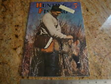 Vintage Sept 1941 Hunting and Fishing Magazine Desert Quail/Beagle/Firearms/Ad& #039;s
