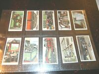 1927  RAILWAY WORKING  railroad  trains complete set cards Tobacco Cigarette lot