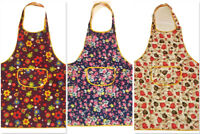 Women Apron Waterproof w/ Pockets Kitchen Restaurant Chef Cooking Pack of 2!