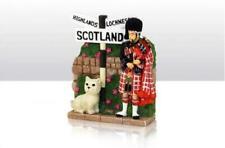 Schottland Modell Dudelsack Spieler,Highland Terrier Loch Ness Great Britain