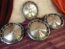 1971 1972 1973 FORD MUSTANG HUBCAPS Nice Set of FOUR HUB CAPS