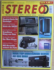 10/08 STEREO quadral Rodio 90, KLIPSCH PALLADIUM p-38f, Acoustic Solid 111