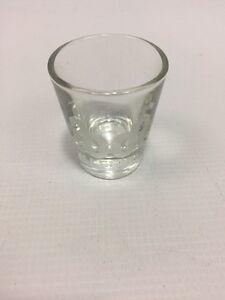 Shot Glass 2000 Millennium Y2K Clear