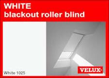 VELUX SKYLIGHT ROLLER BLIND - CODE CK02 - WHITE (BLACKOUT) - BNIB