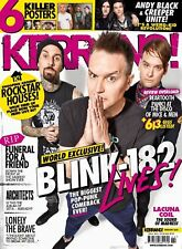 KERRANG MAGAZINE NUMBER 1622 ~ BLINK 182 ~ LACUNA COIL ~ ARCHITECTS ~ NEW ~