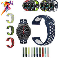 Silicone Sport Wrist Band Watch Strap For Samsung Gear S2 S3 Classic / FrontierV