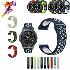 Silicone Sport Wrist Band Watch Strap For Samsung Gear S2 S3 Classic / Frontier