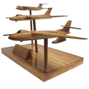 V-Bombers RAF Vulcan Valiant Victor Nuclear Bomber Aircraft Executive Model.