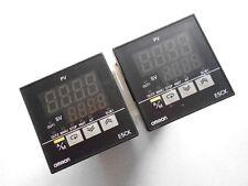 "OMRON E5CK-AA1 ""LOT OF 2"" Temperature controller"