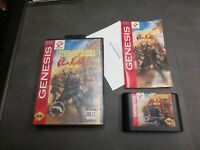 Lethal Enforcers II: Gun Fighters (Sega Genesis, 1994)   Complete in Box - CIB