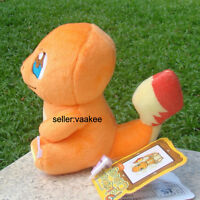 "Pokemon Go Cute Charmander 4.5"" Plush Toy Cuddly Stuffed Animal Doll Nintendo"