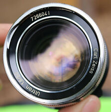 Carl Zeiss Ultron F1.8 50mm M42 Mount Vintage Camera Lens