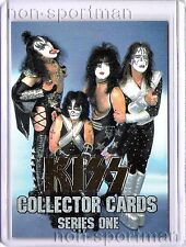 KISS SERIES 1 CORNERSTONE SET OF 90 CARDS (SILVER)