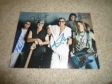 DEEP PURPLE  signed Original  Autogramm 20x25 cm In Person  komplette Band