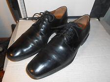 ECCO Men's Black Leather Dress Captoe Oxford Casual Comfort Lace Up Shoes Sz 13