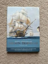 More details for nelson trafalgar uk 2005 brilliant uncirculated two-crown commemorative set