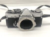 Olympus OM-2n MD Silver Chrome 35mm Film SLR Camera Body Only
