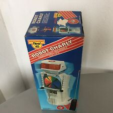 1978#VINTAGE ULTRA RARE ROBOT CHARLY R/C RADIO CONTROLLED BATTERY ROBOT#NIB
