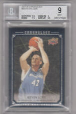 KEVIN LOVE 07-08 UD Chronology RC ROOKIE REDEMPTION. CARD #1 /250. BGS 9 MINT