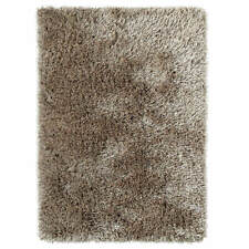 Think Rugs Monte Carlo Shaggy Hand Tufted Rug Mink 120x170cm (4x6')