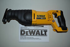 New Dewalt DCS381 20V 20 Volt Cordless Lithium-Ion  Reciprocating Saw