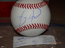 ANTHONY ALFORD BLUE JAYS FALL LEAGUE  AUTOGRAPHED BASEBALL # 1