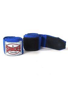 Sandee Hand Wraps 2.5M Blue Stretch Boxing Muay Thai Kickboxing Striking MMA