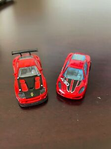 Hot Wheels Ferrari Challenge cars 599 and F430 from mystery pack