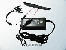 Q-See 4 Way Splitter QSee 4Tip w/ 12V 3A 3000mA Power Supply Cord AC -DC Adapter