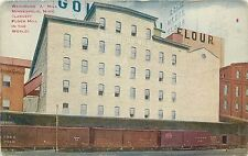 "c1910 Postcard; Washburn ""A"" Mill Minneapolis MN Largest Flour Mill in the World"