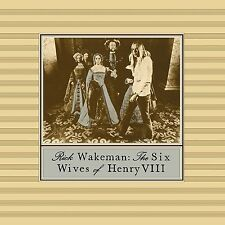 Rick Wakeman Six Wives of Henry VIII Remastered CD & DVD AUDIO NEW