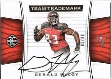 2017 Panini Limited Team Trademark Signatures Gerald McCoy AUTO 5/49