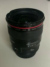 Canon EF 24mm f/1.4L II USM Lens - Used