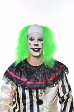Halloween Scary Clown Killer Costume Wig Green H0528
