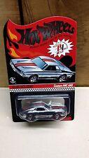 Hot Wheels 2010 Redline Club Membership Car Custom AMC AMX Chrome LIMITED ED