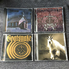 Goatsnake CD Collection Lot 4 Disc Doom Metal Southern Lord Sunn O))) RARE OOP