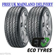 2X Tyres 225 55 ZR17 101W XL Pirelli PZero Nero GT C B 72dB