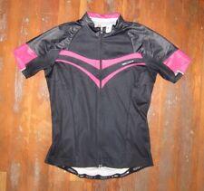 SPECIALIZED Black/Pink CYCLING JERSEY Biking Bike Racing Shirt Sz Adult MEDIUM