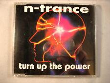 CD Single (B3) - N Trance - Turn up the power - CD Globe 125