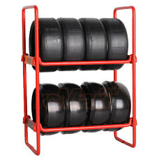 NZO RC Tire Rack Red For EP 1:10 RC Cars Drift Touring On Road  #N010R1