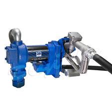 20 GPM Fuel Transfer Pump Gasoline Diesel Gas Kerosene Truck Vehicle Gallon 12V