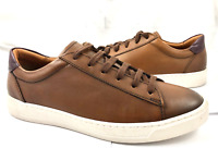 Bruno Magli Men's Size 8.5 Diaz Calf Leather Lace Up Sneakers Shoes Reg $280 NEW