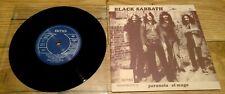 "Black Sabbath 10 Year War Box Set -  Paranoid  7"" Single New Limited Edition"