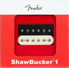Genuine Fender ShawBucker 1 Humbucking Guitar Pickup - ZEBRA, Bridge or Neck