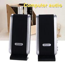 Mini USB 3.5mm Power Speaker For Computer Laptop Desktop PC Music Loudspeaker US