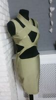 Missguided Bandage Cut Out Dress size 12 UK