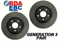 Nissan Patrol GQ EFi Twin Piston 2/1992 onwards FRONT Disc brake Rotors RDA623
