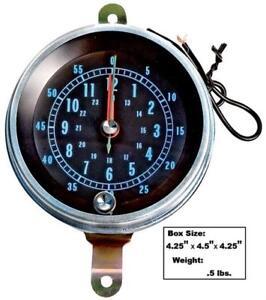 1966-67 Chevrolet Chevelle, El Camino Console Mounted Clock New Dii