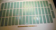 "50 pcs  Vintage Ceramic Fern Green... 2"" X 6"" Matte Bullnose Tiles by MID-STATE"